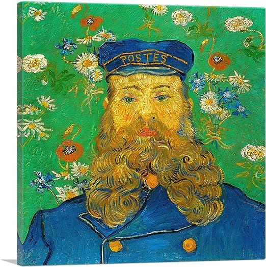 Vincent Van Gogh Portrait of the Postman Joseph Roulin 1889 Vintage Print