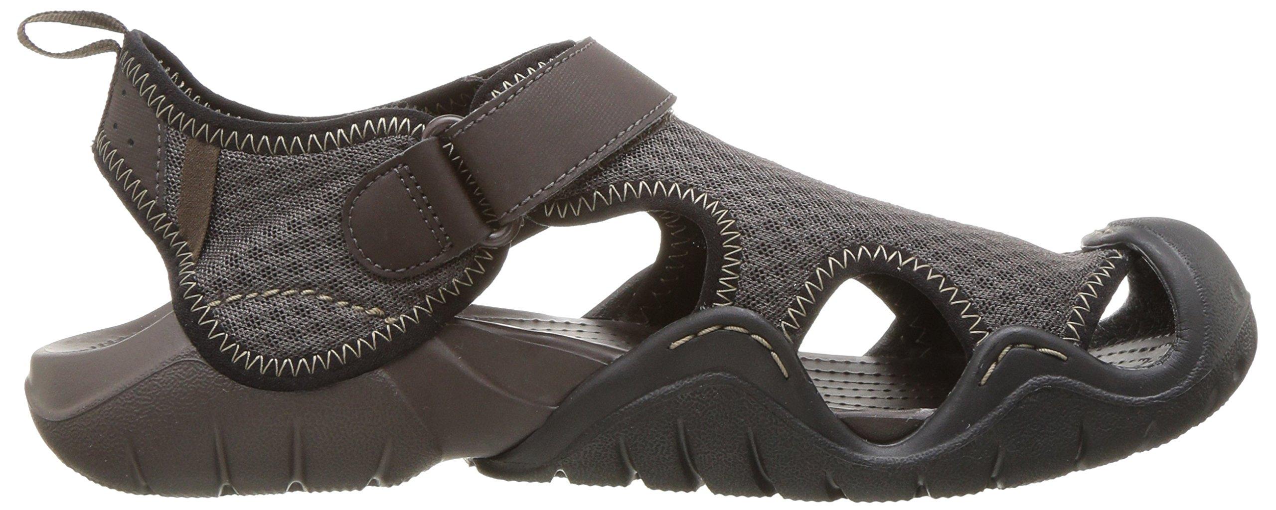 e4c2191cc3df Crocs Men s Swiftwater Mesh Sandal - CROCSSwiftwaterSndlM   Sandals    Clothing