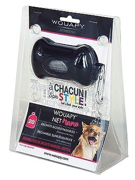 Wouapy WOU217351NOI Nano Dispensador de Bolsas Higiénicas ...
