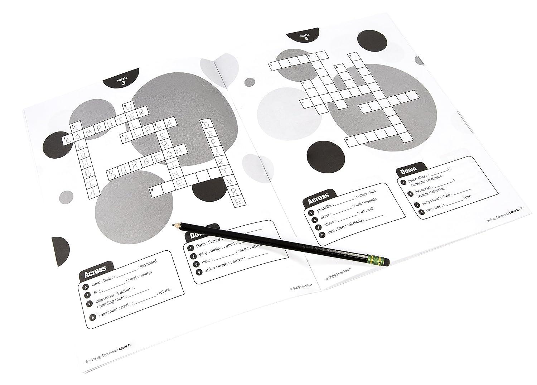 Mindware Analogy Crosswords Level B Toys Games Logic Diagram Crossword Clue