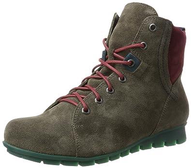 Think Damen Menscha_181078 Desert Boots, Schwarz (Sz/Kombi 09), 39.5 EU