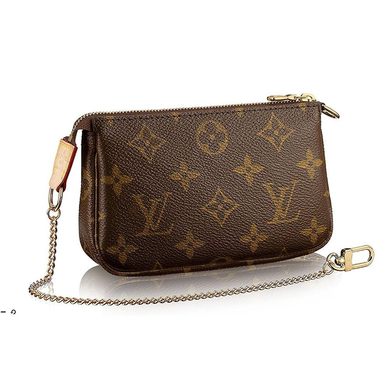 100 Authentic Mini Louis Vuitton Made In France Has No Date >> Louis Vuitton Monogram Canvas Mini Pochette Accessoires M58009