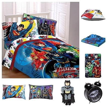 8cc681fe7c DC Comics Justice League Ultimate Reversible Twin Bedding Set ...