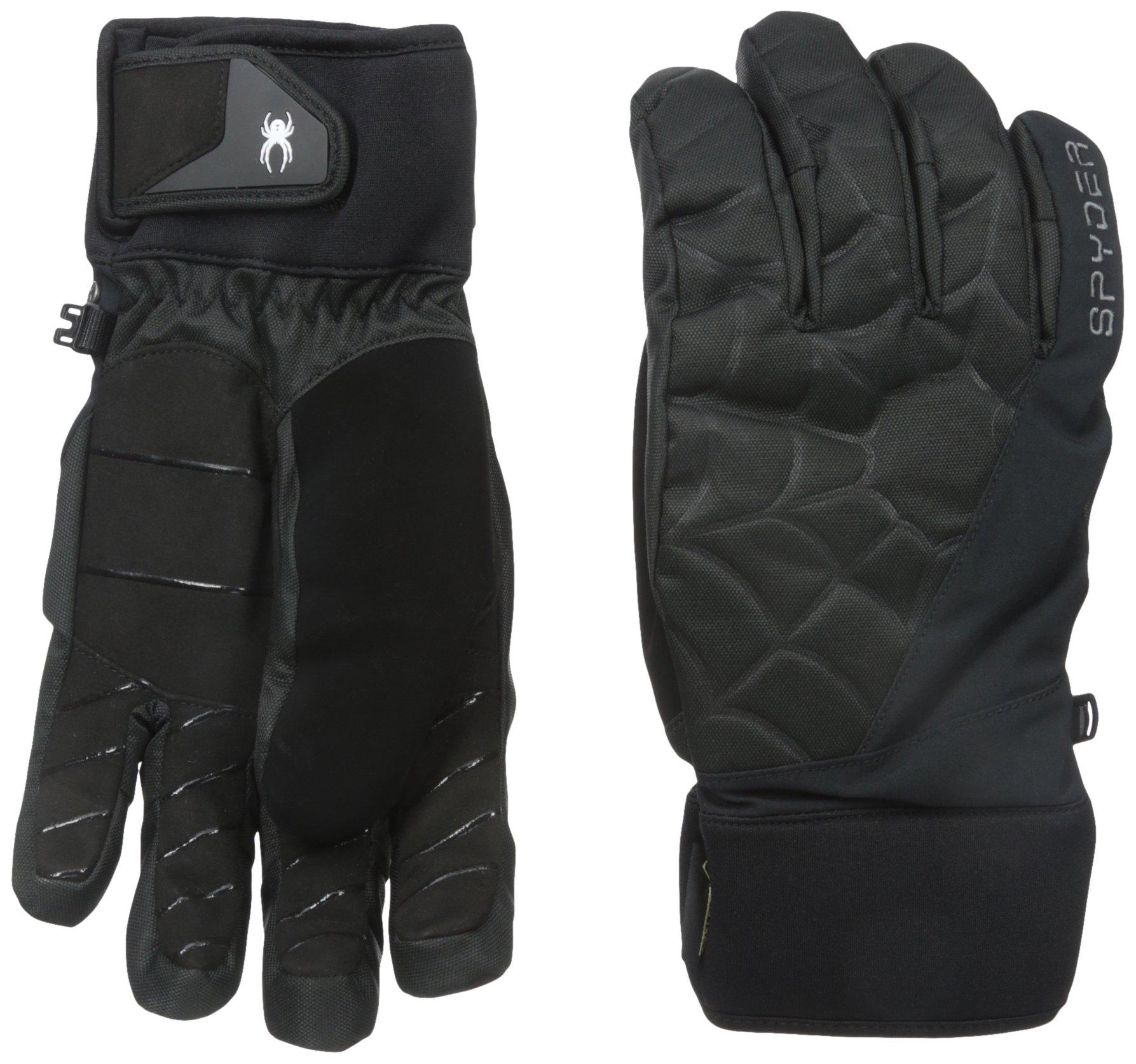 Spyder Men's Underweb Gore-Tex Glove, Black, Small
