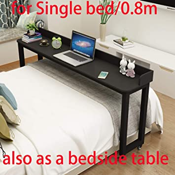 Over Bed Table Overbed Table On Wheels Rolling Bed Table Over The