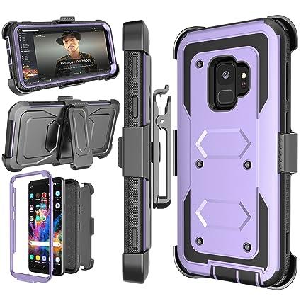 Amazon.com: Funda Galaxy S9, njjex [nbeck Seris] a prueba de ...