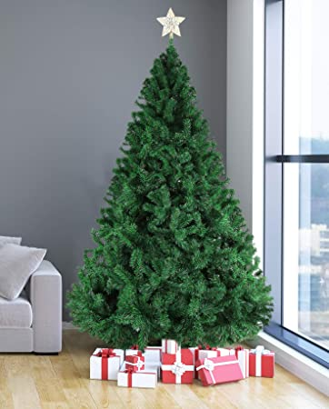 Image Unavailable - Amazon.com: Livebest 8ft Artificial Holiday Christmas Tree With 1500