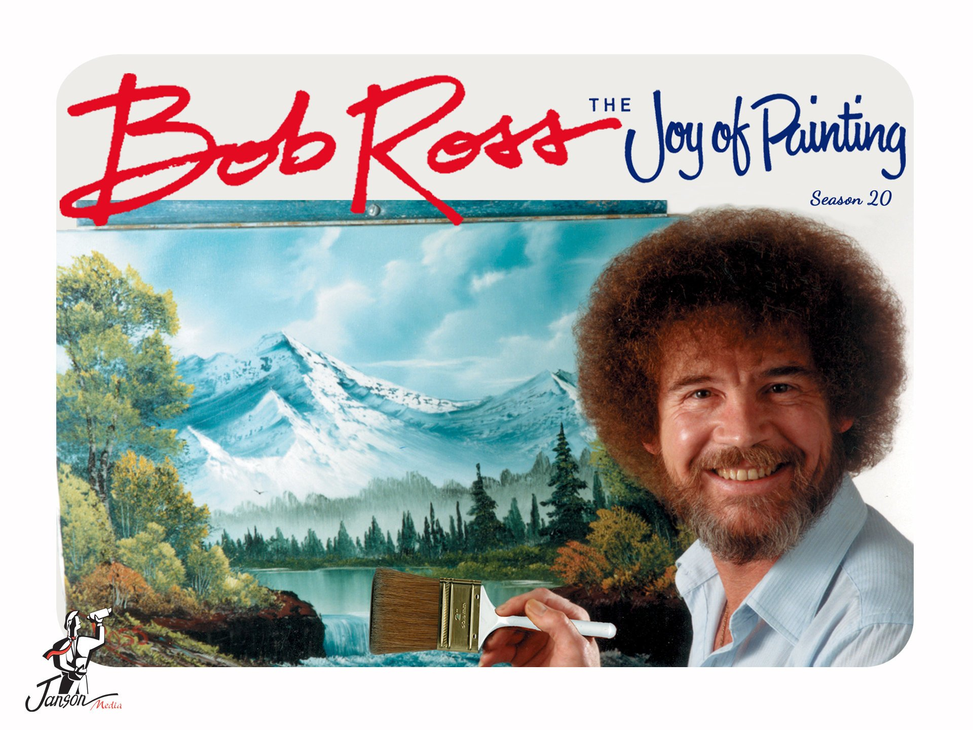 b8c7a95821 Amazon.com  Watch Bob Ross  The Joy of Painting