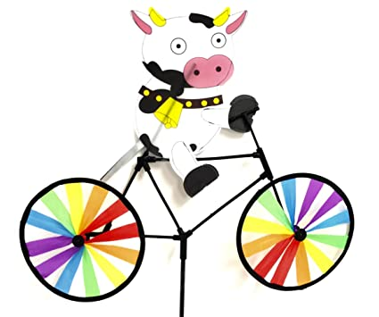 Amazon.com: 20 en. Bicicleta Spinner – Cute Vaca: Jardín y ...