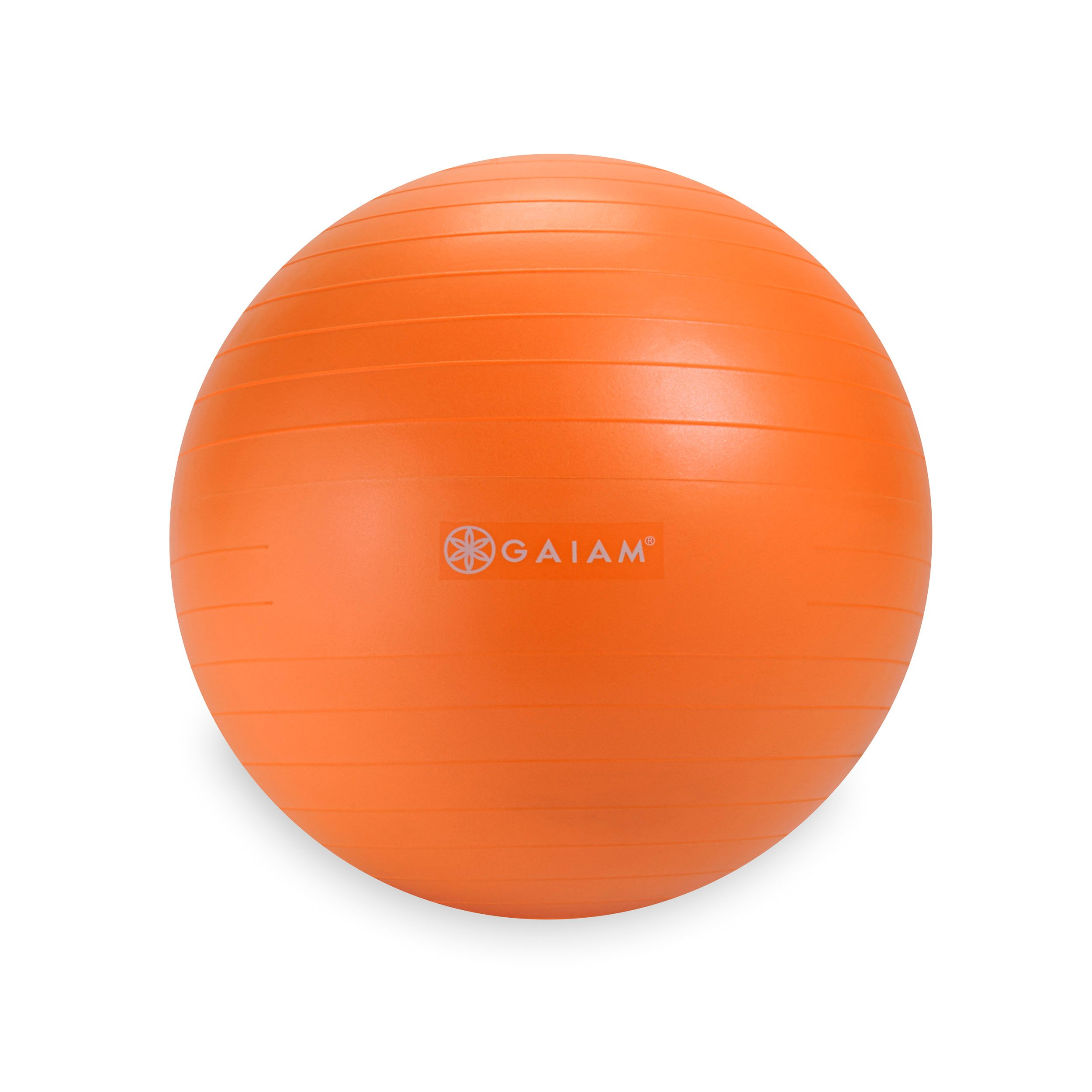 Gaiam Kids Balance Ball - Exercise Stability Yoga Ball, Kids Alternative Flexible Seating for Active Children in Home or Classroom (Satisfaction Guarantee), Orange, 45cm