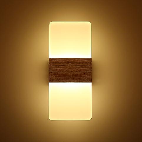 topmo 12w lampada da parete a led applique per camera da letto ... - Applique Per Camera Da Letto