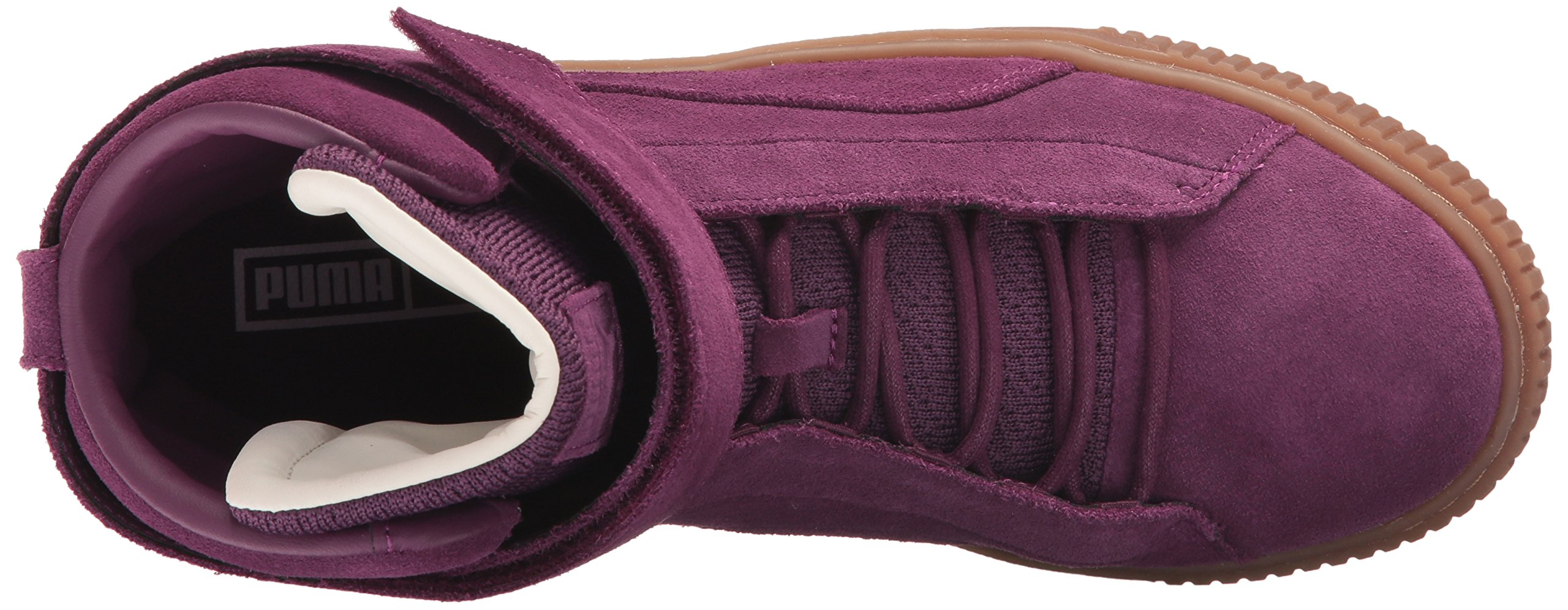 PUMA Women's Platform Mid OW Wn, Dark Purple-Dark Purple, 8.5 M US by PUMA (Image #8)