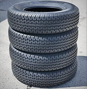 Set of 4 (FOUR) Transeagle ST Radial II Steel Belted Premium Trailer Tires-ST235/85R16 128/124L LRF 12-Ply