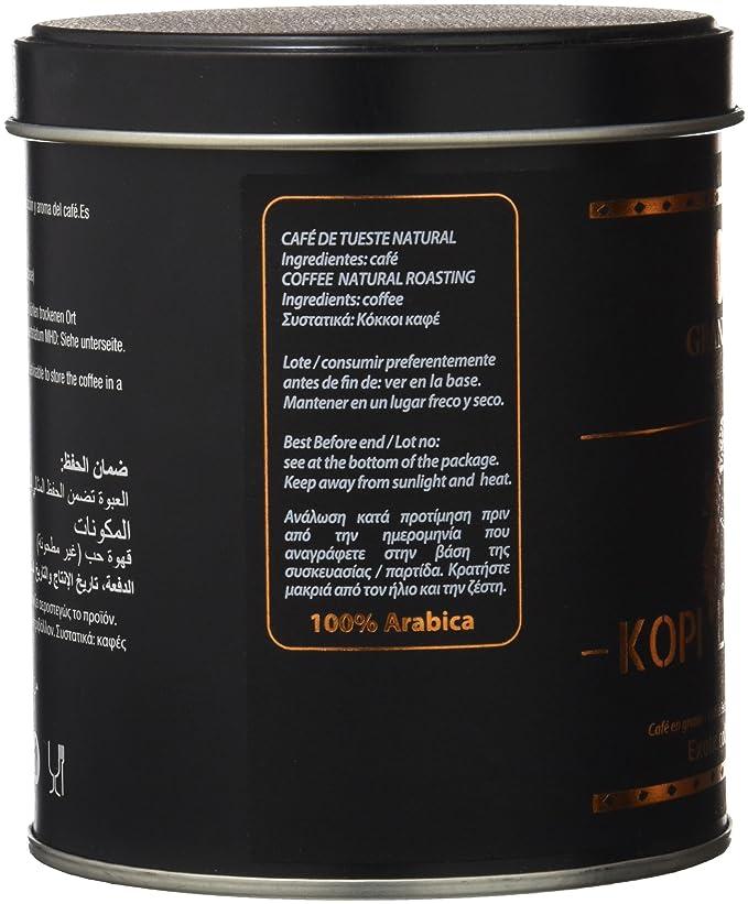 Granell Kopi Luwac Café Grano Exotic Colección - 100 gr