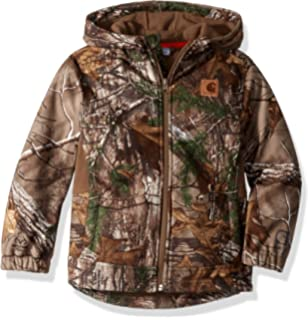 0a6aa7ca6b01 Amazon.com  Carhartt Boy s Camo Active Jacket  Clothing