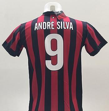 Camiseta de fútbol del A.C. Milán, Bonucci 9, réplica autorizada, temporada 2017-