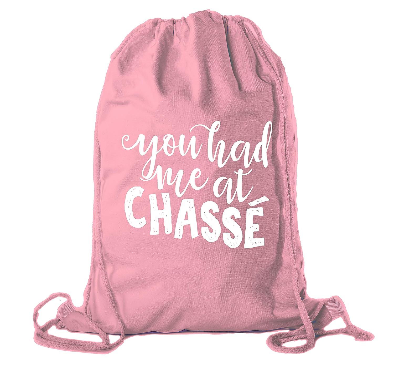 Dance Cotton Drawstring Cinch Backpacks Ballet Backpacks for girls Dance Bags