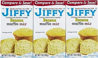 product image for Jiffy Banana Muffin Mix, 7 oz, 3 pk