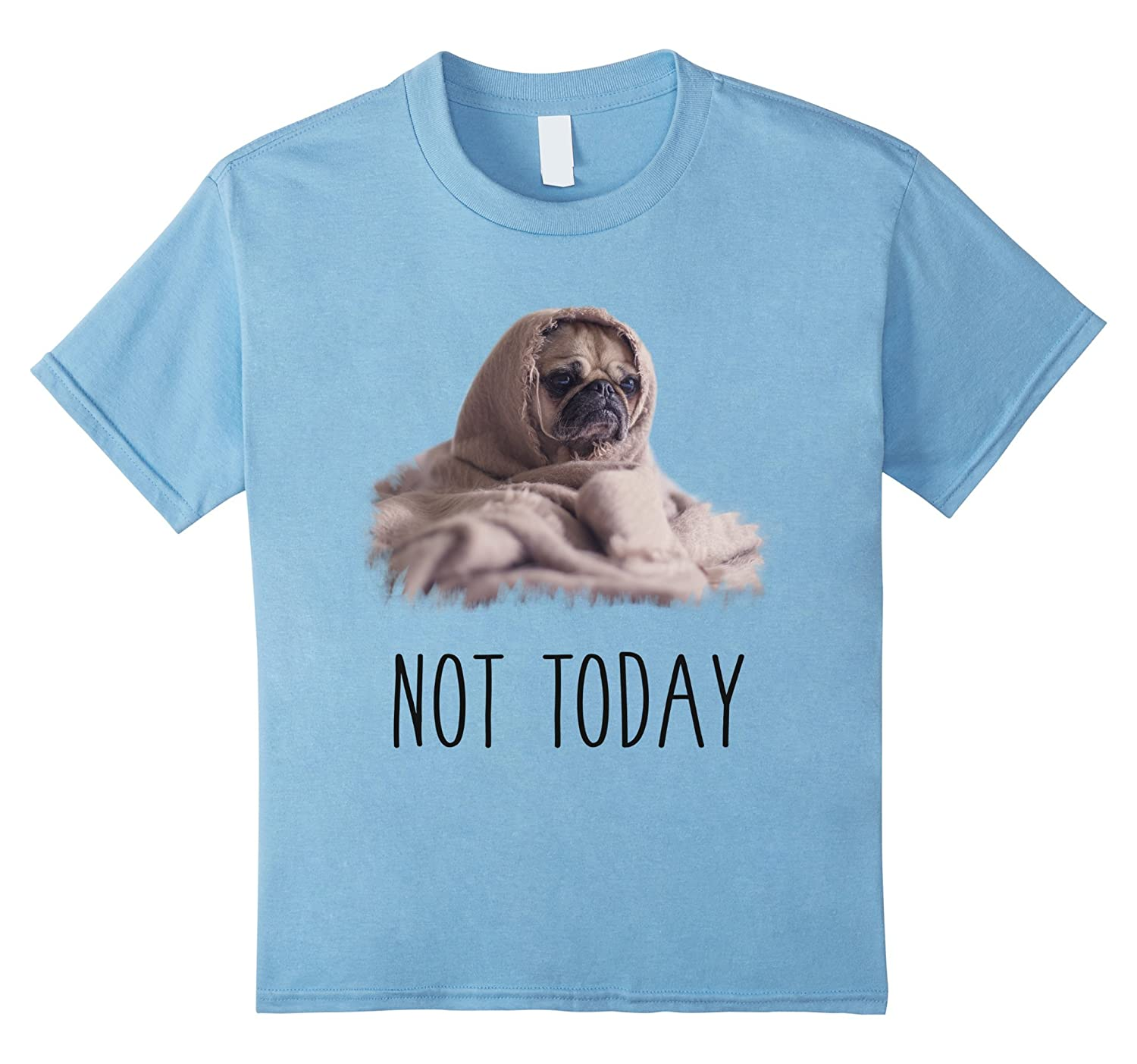 Mens Today T Shirt Funny Blanket-Tovacu
