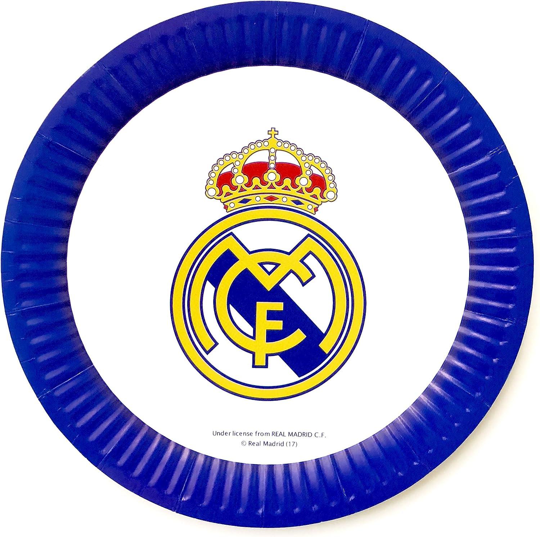 Real Madrid - Juego de decoración para fiesta de cumpleaños ...