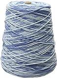 Lily Sugar 'N Cream Yarn, 14 Ounce Cone, Faded Denim, Single Ball