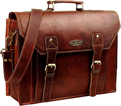 Leather briefcase business bag conference bag satchel office bag shoulder folder shoulder bag men woman executive briefcase red