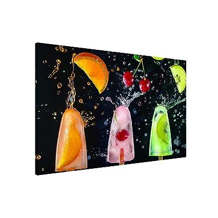 Bilderwelten Pizarra magnética - Popsicle - Formato apaisado ...