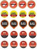 High Octane Variety K-cup Sampler Pack for Keurig 2.0 - Café Bustelo Espresso, Revv, Jet Fuel & Black Tiger - 20 Count/4 Varieties