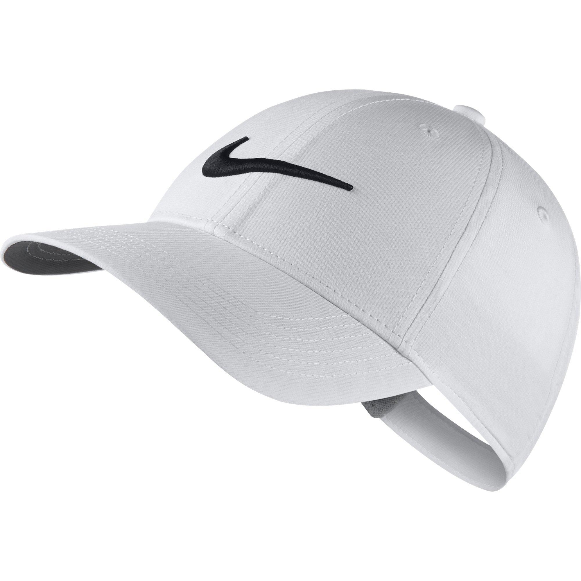 NIKE Kid's Unisex Core Golf Cap, White/Anthracite/Black, One Size