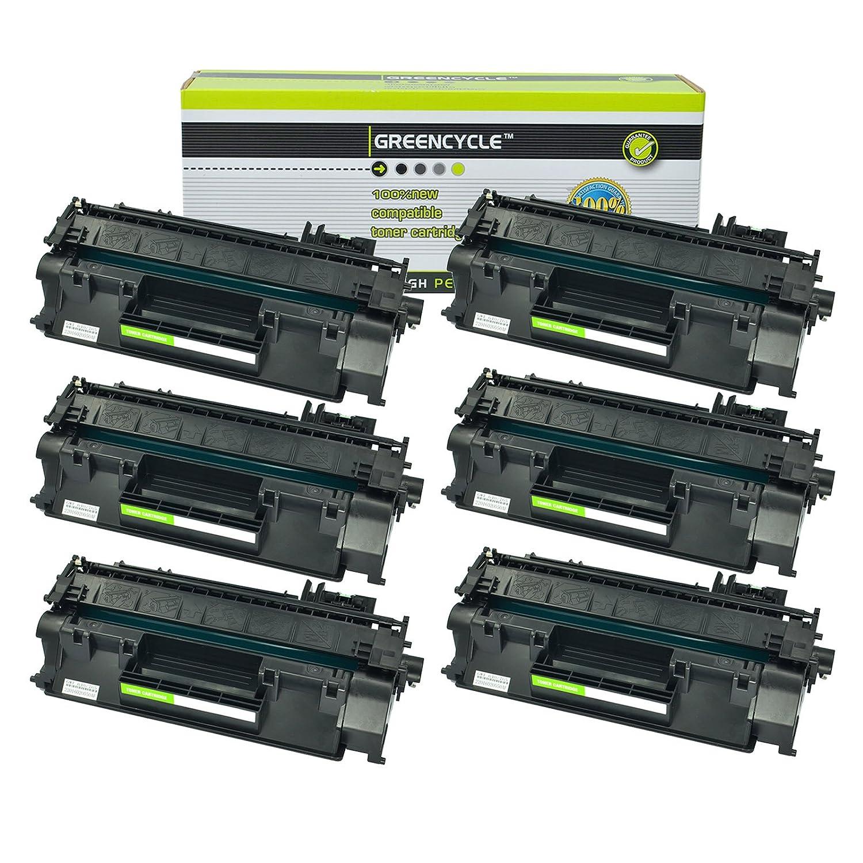 6PK CE278A 78A Toner Cartridge Compatible For HP LaserJet M1536dnf P1566 P1606dn