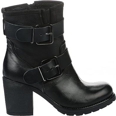 Paoyama Boots Femme Noir 41: : Chaussures et Sacs