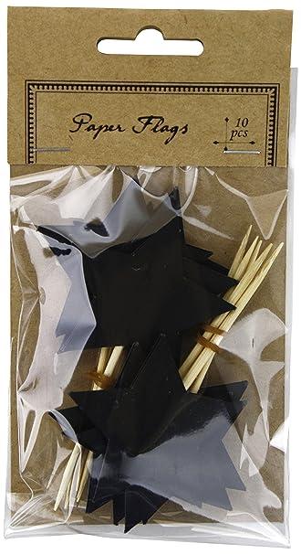 Küche Kaufen Kel | Kel Toy Sternenlogo Tafelpapier Flaggen 1 5 Von 8 3 Cm Schwarz