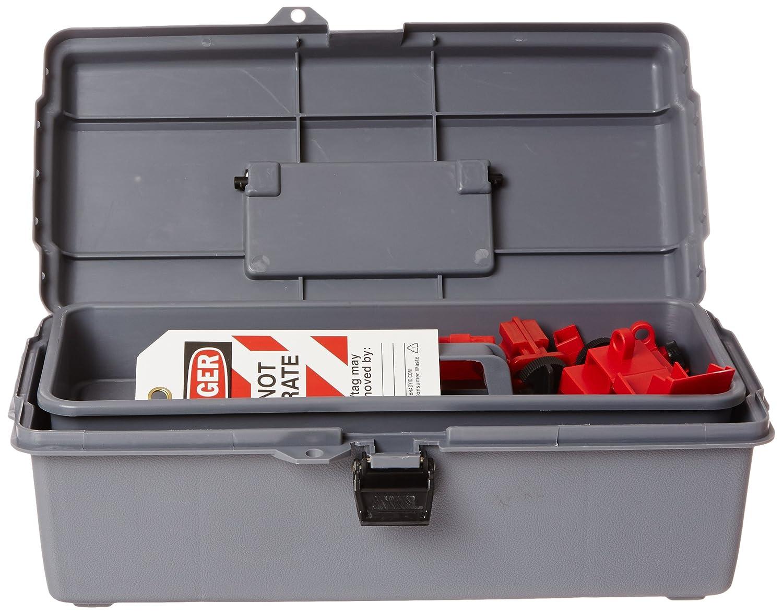 Brady 95547 Portable Lockout Kit Fill Electrical Gray