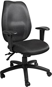Boss Office Products High Back Task Chair in Black