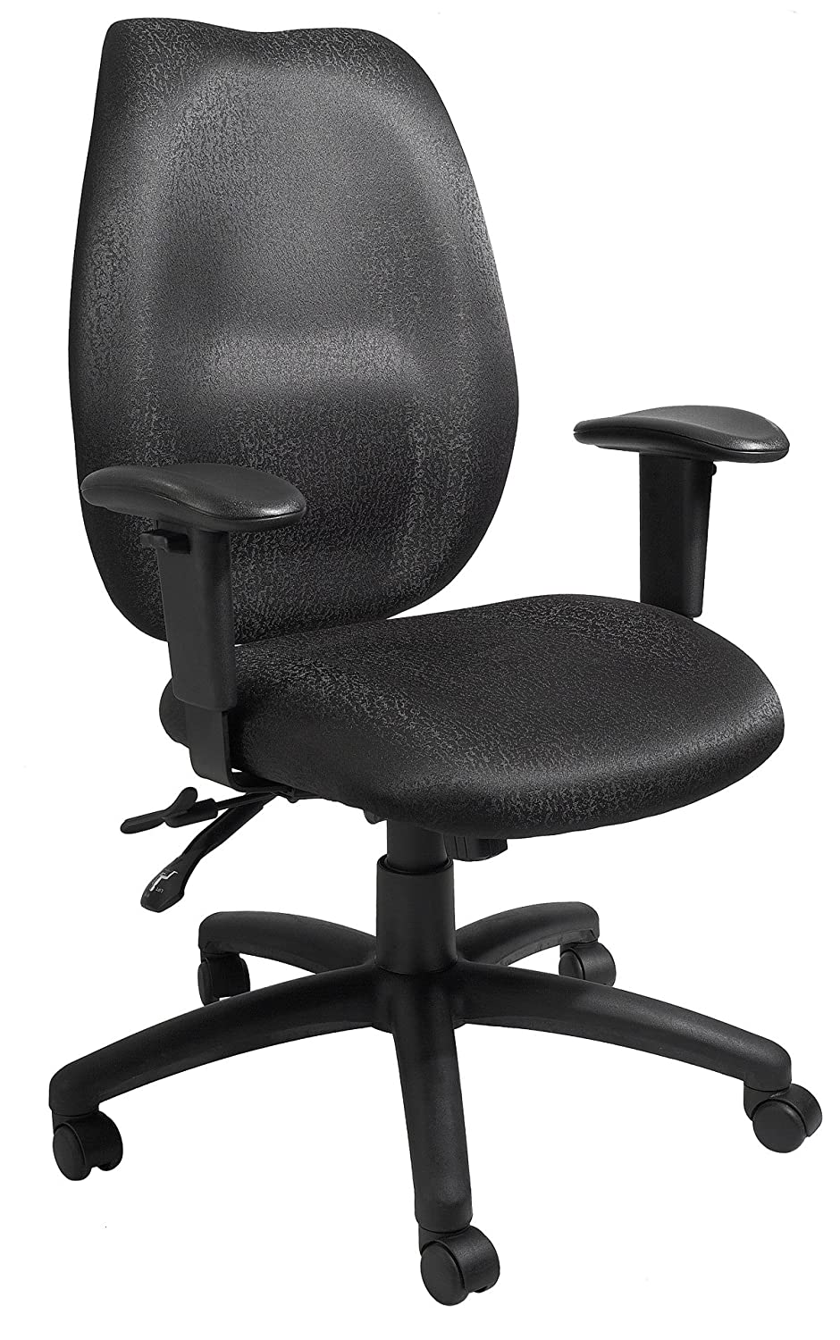 Boss Office Products B1002-BK High Back Task Chair in Black