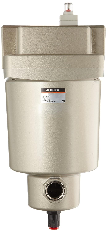 SMC AFF serie Mainline Filtro de aire comprimido, elimina aceite, agua, partículas, TNP: Amazon.es: Industria, empresas y ciencia