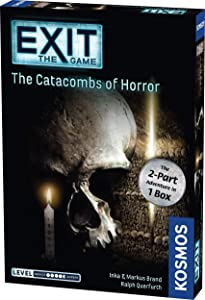 Exit: The Catacombs of Horror | Exit: The Game - A Kosmos Game from Thames & Kosmos | Card-Based, 2-Part at-Home Escape Room Experience for 1 to 4 Players, Ages 16+