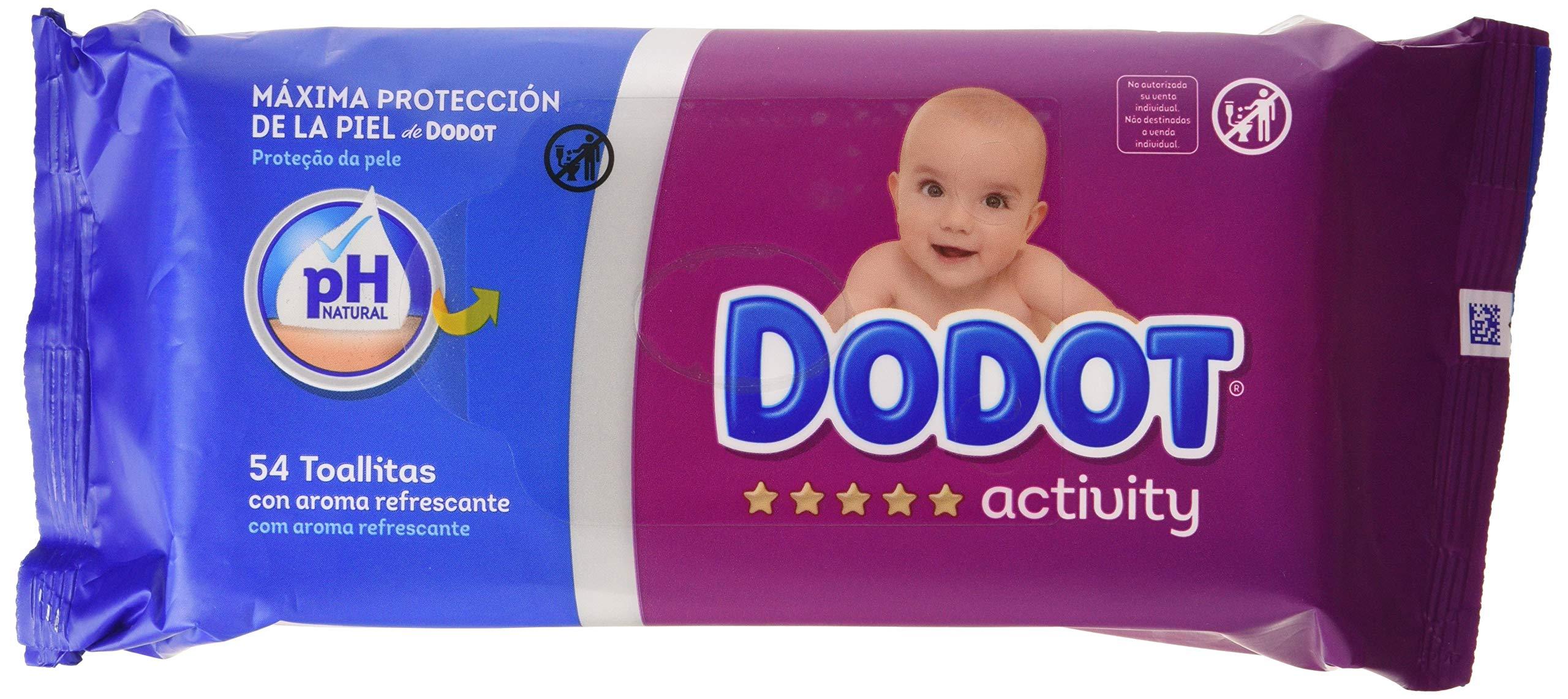Dodot Activity Wipes 54 Unidad (Paquete de 16)