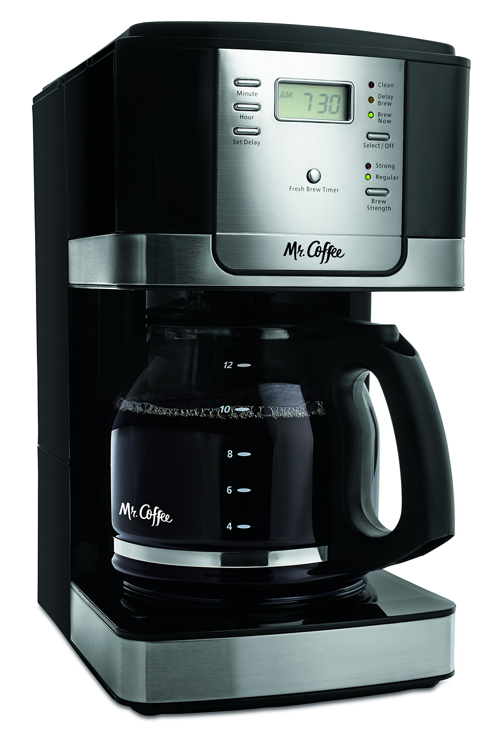Mr. Coffee JWX27-NPA 12-Cup Progammable Coffeemaker, Black by Mr. Coffee