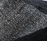DIR 50% UV Shade Cloth Black Premium Mesh