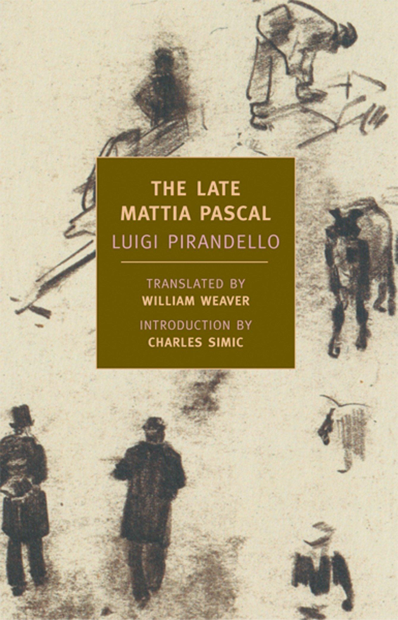 Download The Late Mattia Pascal pdf epub