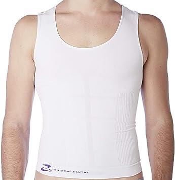 CzSalus - Camiseta reductora para hombre Bio-Fir Emana®, efecto adelgazante: Amazon.es: Deportes y aire libre