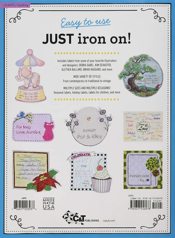 Multicolor C /& T Publishing 20393 Best Ever Iron On Quilt /& Needle Art Labels