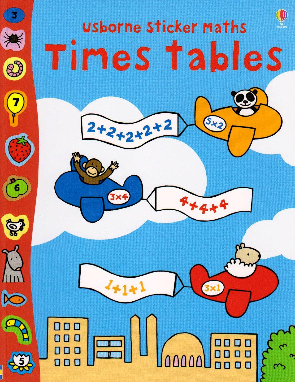 Read Online Times Tables (Usborne Sticker Maths) (Usborne Sticker Maths) pdf