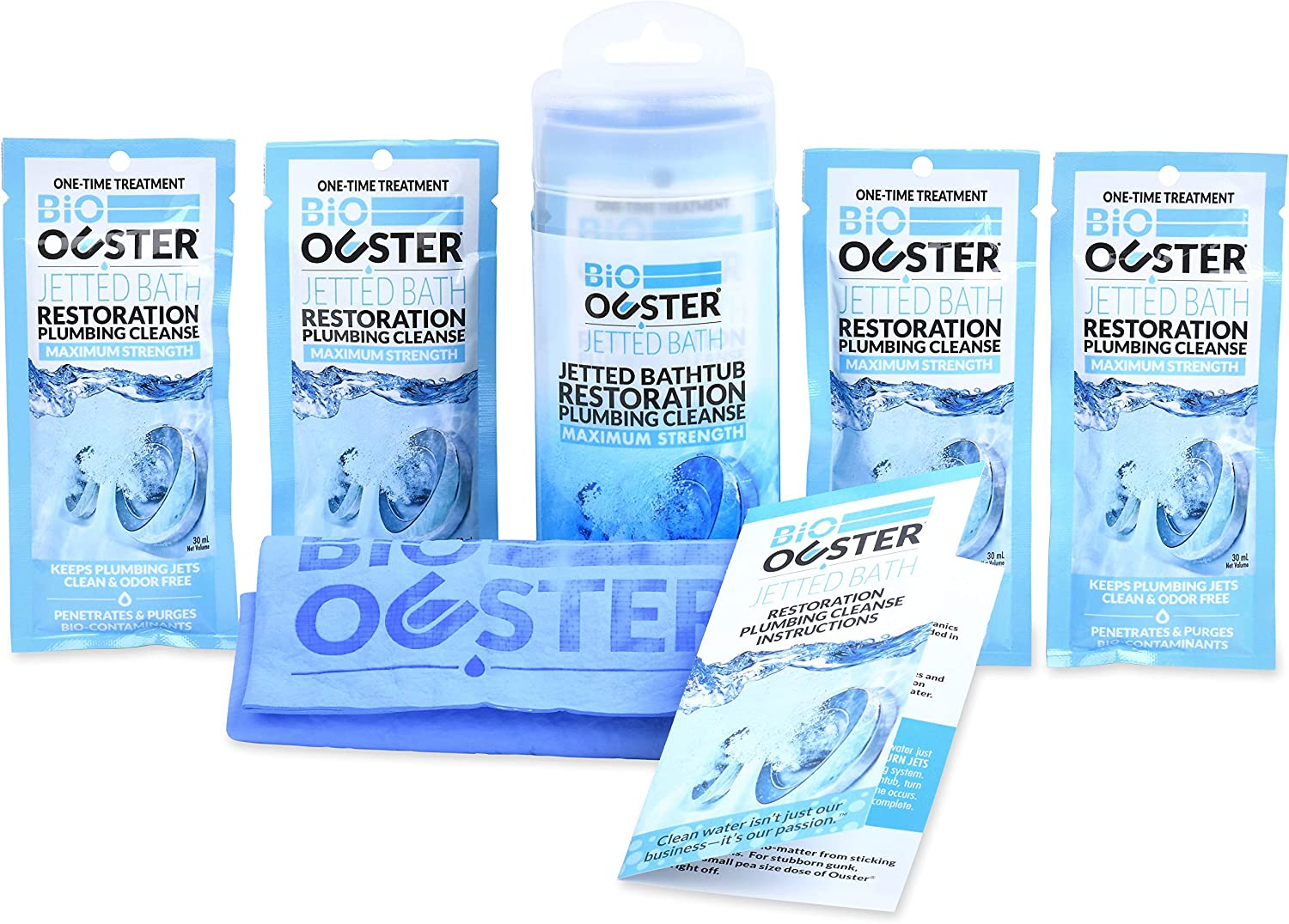 3. Bio Ouster Jetted Bath Restoration Kit