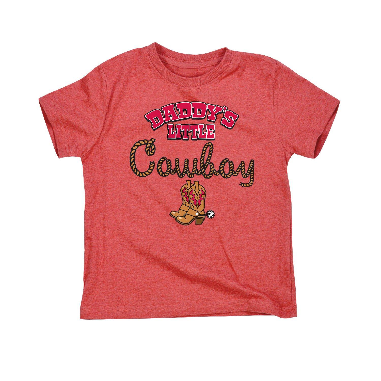 Daddys Little Cowboy Short Sleeve Ts Shirts