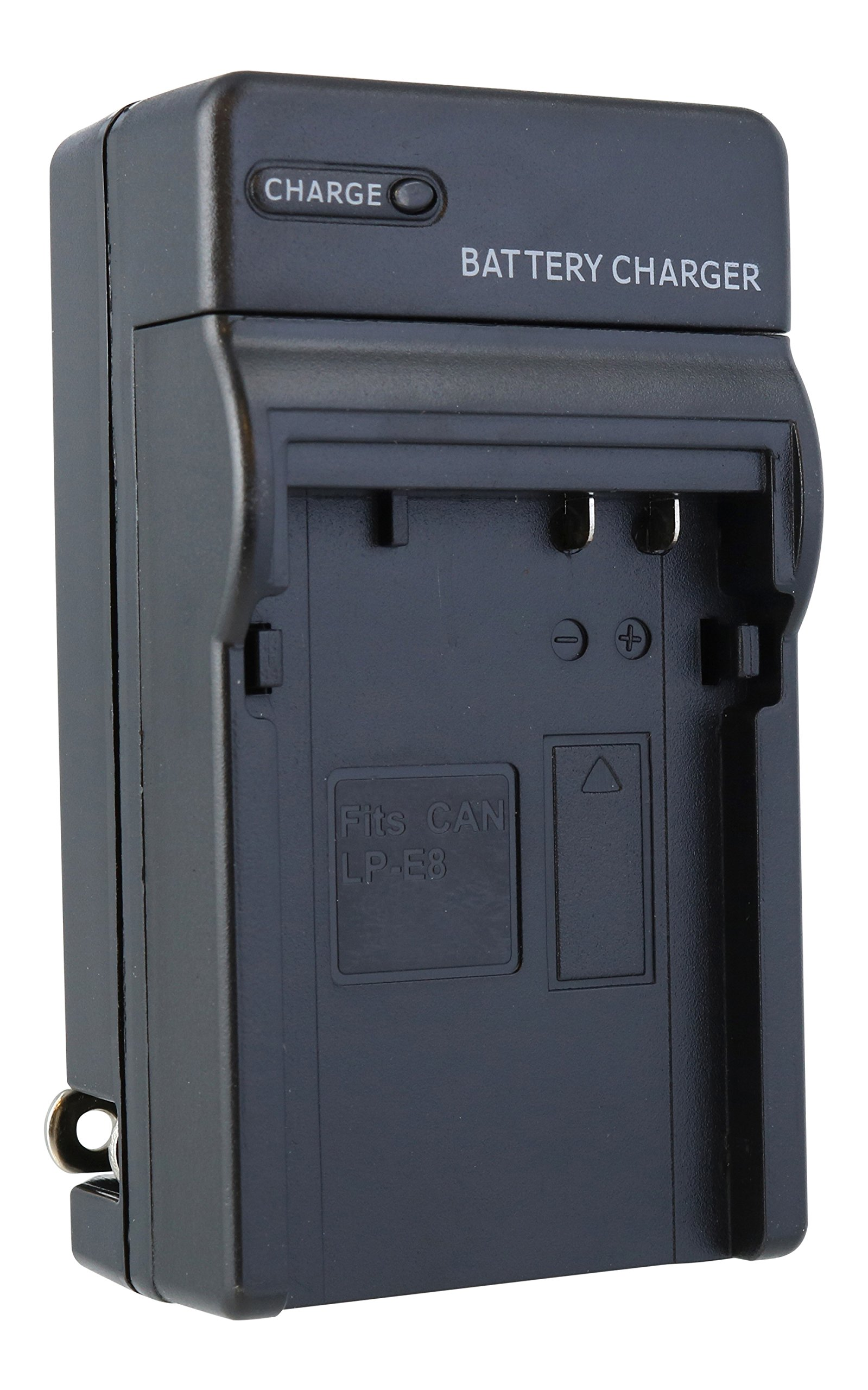 TechFuel Battery Charger Kit for Canon EOS 600D Camera - For Home, Car and Travel Use