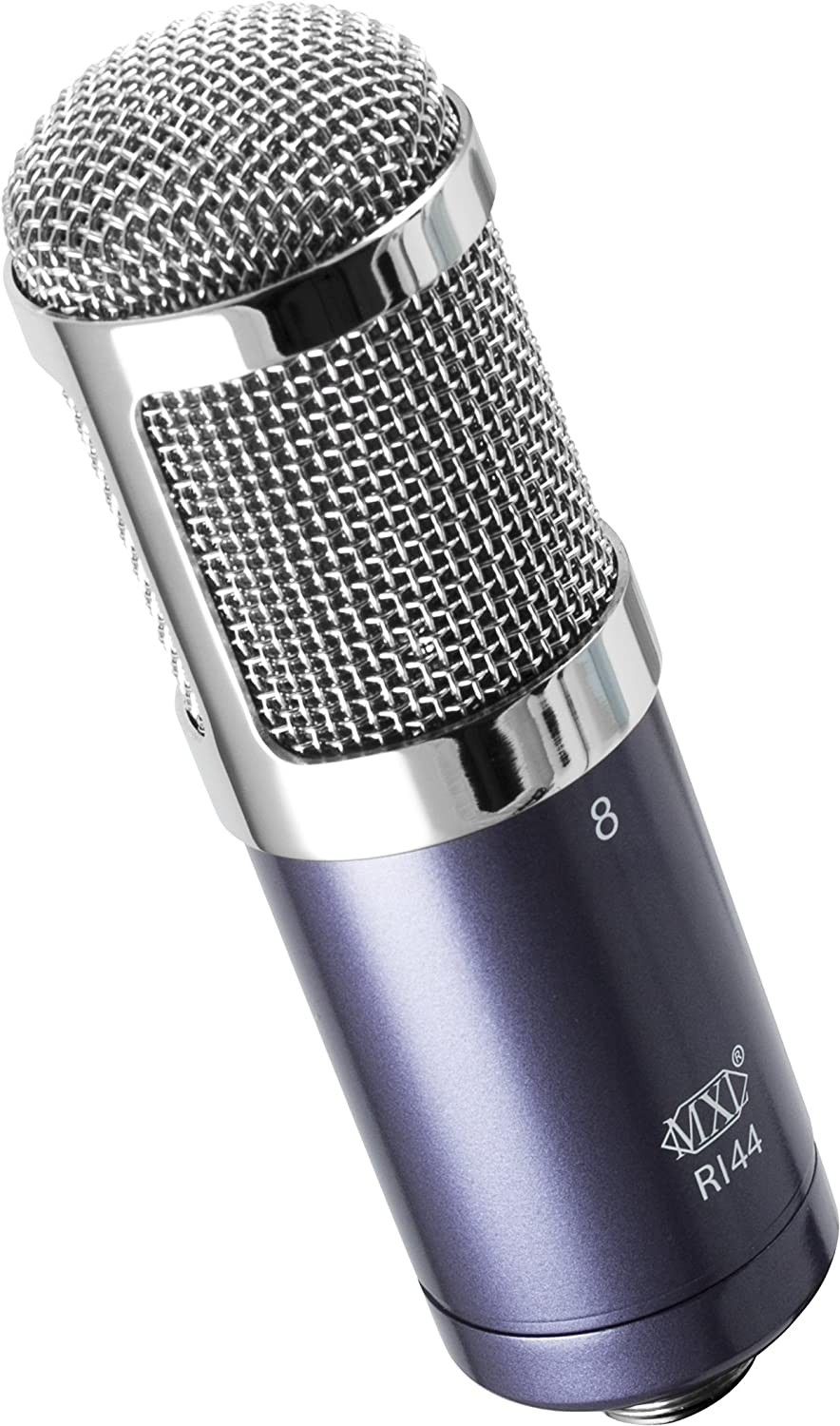 MXL R144 Ribbon Microphone (Purple/Chrome) Marshall Electronics