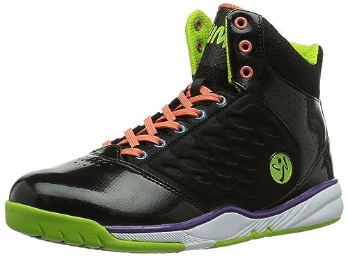 Zumba Footwear Zumba Energy Push High - Zapatillas, Multicolor (Black/Blue),