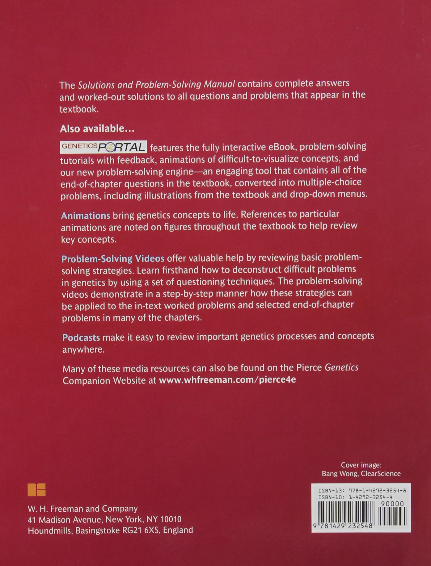 Solutions Manual for Genetics: A Conceptual Approach: Benjamin Pierce,  Anthony Pierce: 9781429232548: Books - Amazon.ca
